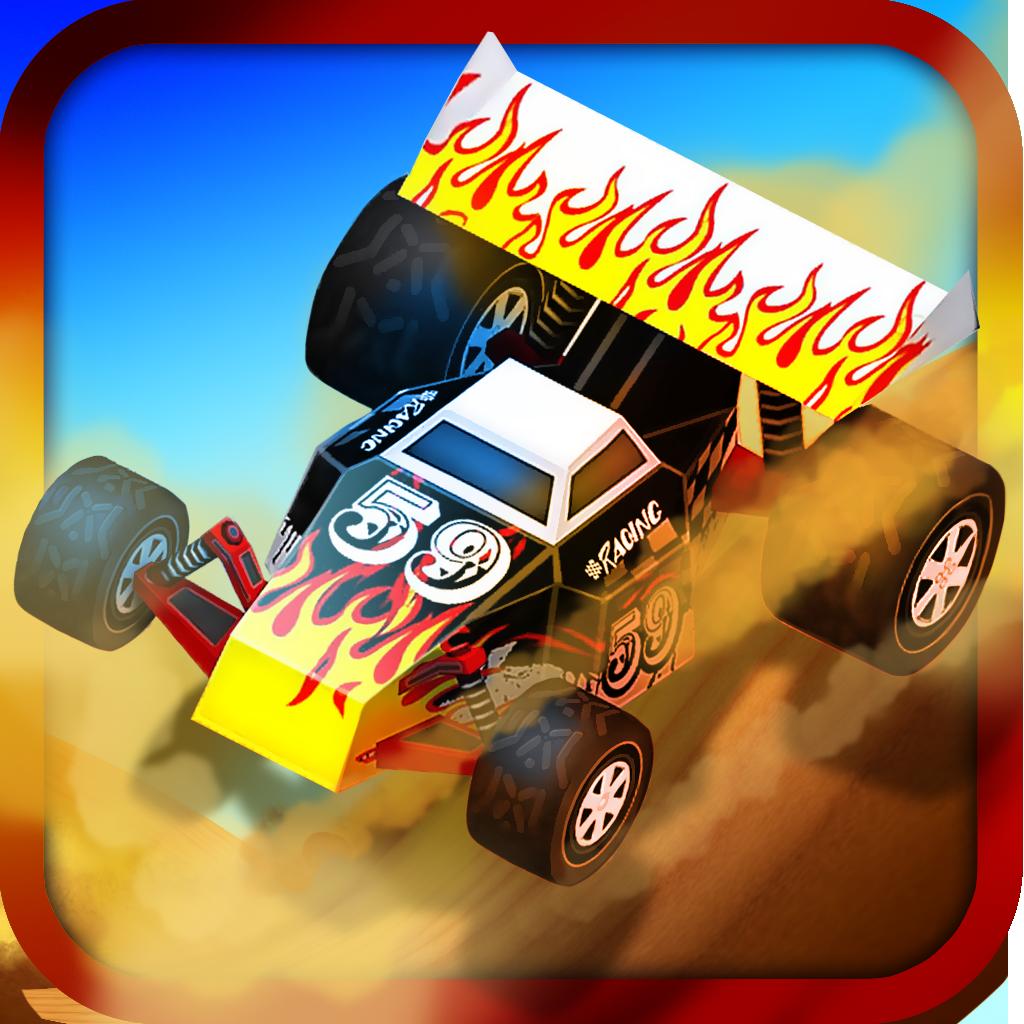 3D Desert Hill Climb Game